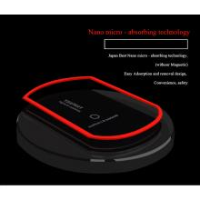 Hot selling  Qi certificated wireless charger for Samsung and IPhone